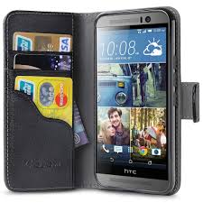 htc one m9 leather book wallet case