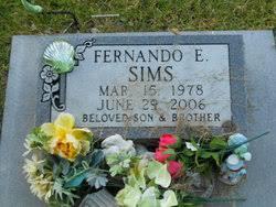 Fernando Earl Sims (1978-2006) - Find A Grave Memorial