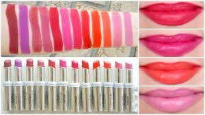 Covergirl Outlast Lipstick Lip Swatches Review Beauty With Emily Fox