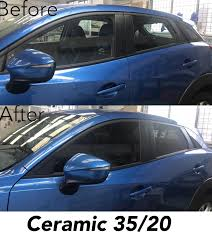 20 window tint. Beautiful Window 3M Ceramic Car Window Tint 3520 On Mazda CX3 Before And After Photos Throughout 20 Window Tint 2