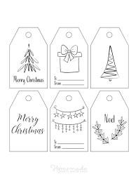 We also have some other free, printable gift tags (and even more free gift tags!) that are not christmas themed but would look great on your tip: 350 Free Printable Christmas Tags 54 Sets To Download