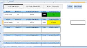 Succession Planning Chart Succession Planning Template Excel Free Raci Chart For It