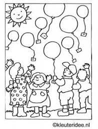 Kinderboekenweek 2014 Feest In De Wolken Kleurplaat