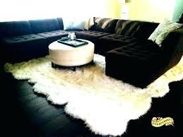 large white fur rug acceptable faux sheepskin for size ru 2 pelt eggshell white sheepskin fur rug