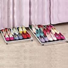 Under The Bed Shoe Storage On Wheels 24 Creative Ways To Store Your Shoes Storage Organizations And 7