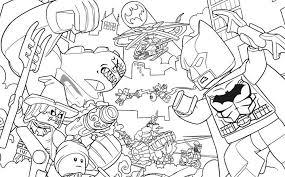 Batman Killer Croc Sewer Smash Coloring Pages Batman Coloring