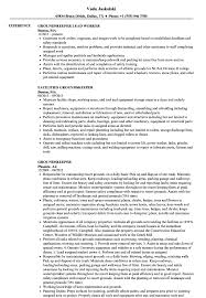 Groundskeeper Resume Groundskeeper Resume Samples Velvet Jobs 1