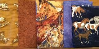 3 Fat Qtrs.+ 1yd Western Horse Cowboy Cotton Prints Sewing ... & 3 Fat Qtrs.+ 1yd Western Horse Cowboy Cotton Prints Sewing Quilting Fabric  Lot Adamdwight.com
