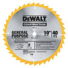 dado blade lowes. dw3114 construction 10-in 40-tooth general purpose circular saw blade dado lowes