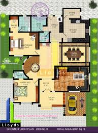 bedroom bungalow floor plan and 3d view kerala home design and floor small bungalow house plans