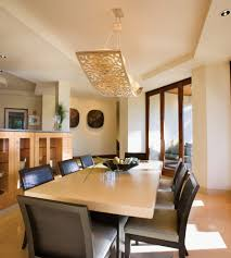 decorations exotic dining room idea with unique light fixtures also neutral color scheme exotic dining