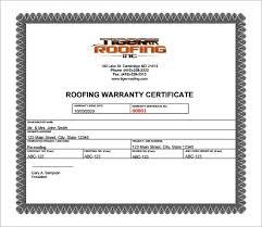 Free 6 Sample Warranty Certificate Templates In Pdf Psd