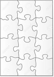 P Is For Puzzle - Free Blank Jigsaw Puzzle Template Printable ...