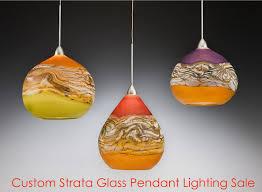 blown glass lighting. Blown Glass Lighting