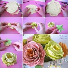 Make Flower With Paper Making Rolled Paper Flowers Pictures Photos And Images For
