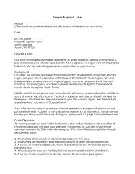 Cover Letter Sponsorship Sponsorship Proposal Cover Letter Charity Example Naveshop Co