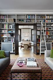 bookcase tall bookcase with ladder diy rolling library ladder living room with ladder bookcase