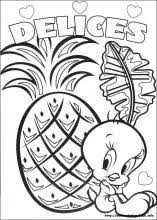 Small Picture Tweety coloring pages on Coloring Bookinfo
