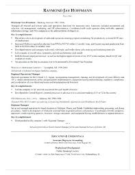 Bank Operations Manager Resume Templates – Sapphirepartners