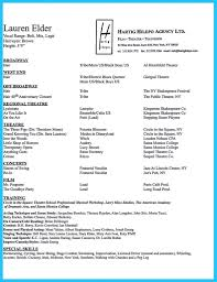 Bistrun Theatre Resume Templates Musical Theatre Resume Template