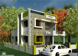 Exterior Home Design For Small House In Indian