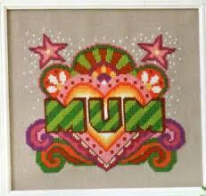 Emily Peacock Charts Cross Stitch Chart Emily Peacocks Mum Design 0 99