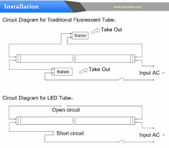connection diagram of led tube light connection 2 ft 8w t8 led tube light 3014 smd 230v for fluorescent light on connection diagram