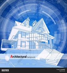 architecture design blueprint 3d house plan u0026 blue technology radial background vector illustration architectural design r26 blueprint