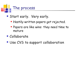 research paper writing the process of writing 41