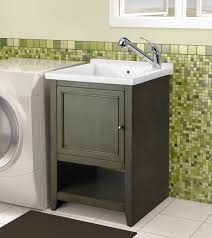 bathroom utility sink. Utility Sink For Your Bathroom And Laundry Room Design Ideas: Small Wall Mount