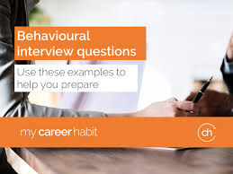 Interview Question Examples Behavioural Interview Question Examples Be Prepared For The