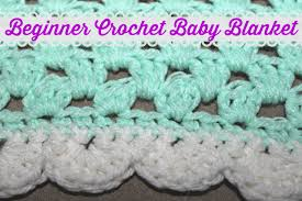 Crochet Baby Blanket Patterns For Beginners Extraordinary Beginner Crochet Baby Blanket Patterns Crochet And Knit