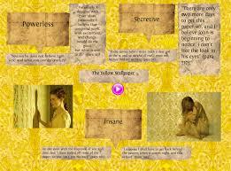 The Yellow Wallpaper Short Story Analysis School College