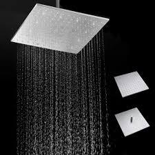 16 250 Mm 304 Edelstahl Regendusche Kopf Platz Ultra Thin Schlank Regen Duschkopf