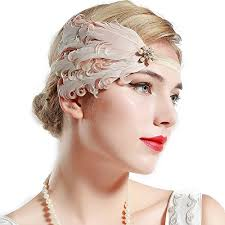 Gatsby Hairstyles 71 Awesome BABEYOND 24s Flapper Headband Roaring 24s Great Gatsby Headband