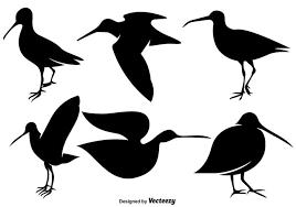 ベクトル狙撃鳥フラットアイコンイラスト素材集ダウンロード美术用模様