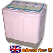 Mini Clothes Washer Twin Tub Washing Machine Portable Caravans Mobile Homes Pump Mini
