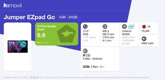 <b>Jumper Ezpad Go</b>: Price, specs and best deals