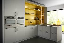 Yellow And Grey Kitchen Hardwood Floor Dining Chair Grey Sofa Yellow Cabinet Chandeliers
