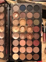 this is the ultra professional flawless 32 piece eyeshadow set and it is gorgeous it is also 15 00 at ulta as you can tell i use this palette pretty
