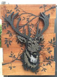 stag wall art