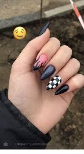Uñas de gel uñas acrílicas uñas de porcelana uñas postizas ñas vintage y uñas en punta. Unas Acrilicas Negras 2019 Busqueda De Google Manicura De Unas Unas Postizas De Gel Unas De Gel Simples