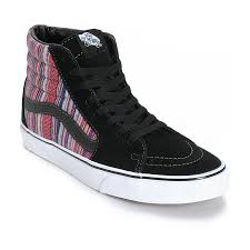vans shoes red and black high tops. vans sk8-hi guate weave skate - miscellaneous men high top sale (v82w4768) shoes red and black tops