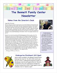 One Page Newsletter Templates 9 One Page Newsletter Templates Free Pdf Doc Format Download