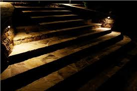 image of outdoor stair lighting for steps