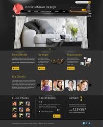 Iconic Website Design Iconic Graphics Interior Website Design Template Iconic