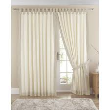 claremont lined tab top curtains pair available in natural