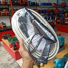 bộ dây vòi xịt máy rửa xe 15M gia đình mini awa. đầu dây răng trong 22mm  lắp vào máy rửa xe động cơ từ - Máy xịt rửa Thương hiệu AWA