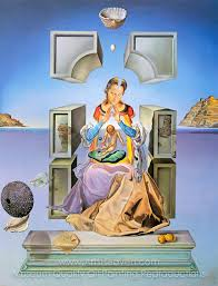 madonna of port lligat oil painting reion on canvas artist salvador dali