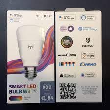 NEW 2021] Bóng đèn Led thông minh Xiaomi Yeelight Bulb W3 đui xoắn E27 (RGB  16